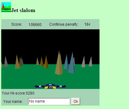 jet slalom